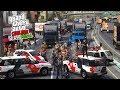 GTA V VIDA REAL GREVE DOS CAMINHONEIROS TEVE APOIO POLICIAL NAS MANIFESTAÇÕES EP 79 mp3