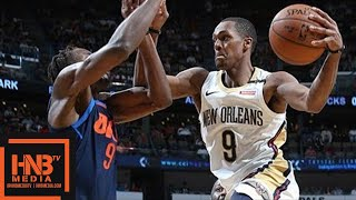 Oklahoma City Thunder vs New Orleans Pelicans Full Game Highlights / April 1 / 2017-18 NBA Season