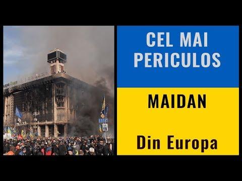 Cel mai periculos Maidan din Europa