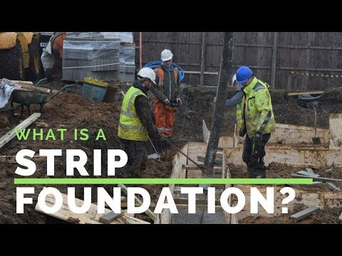 Ben's self build vlog 1 - what is a strip foundation?