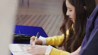 [161012] LOOПΔ Heejin's 1st Fansign (ENG) - Stafaband