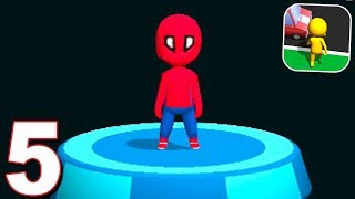 Road Race 3D - Spiderman Skin (BIG UPDATE) Android Gameplay Walkthrough 91-110 Levels