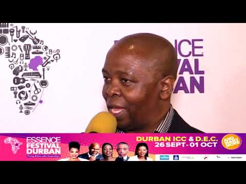 Essence Feststival Part 01 with Phillip Sithole (Head of Durban Tourism)