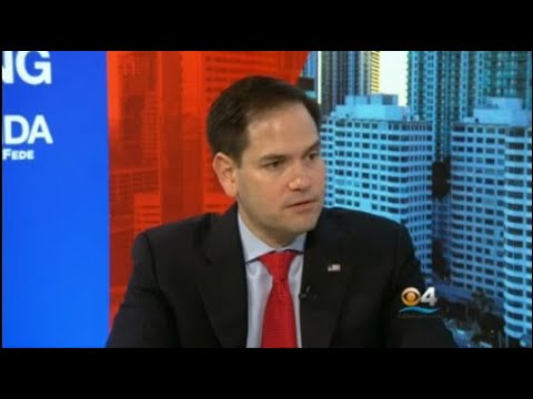 Web Extra: Full Interview With Sen. Marco Rubio On Facing South Florida