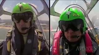 Aviators 5 FREEview: In-flight Air Show Communications (w/ the GEICO Skytypers)