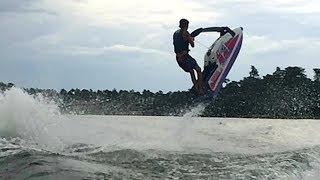 fx1 standup jetski flat water barrel roll