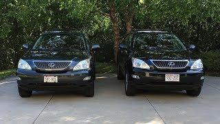 2004 Lexus RX330 vs 2008 RX350: What's different?