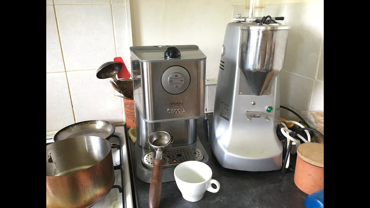 Gaggia Baby Class D 2 Cups Coffee Machine Semi Automatic Espresso ...