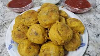 Ramadan special cheese filled aloo batatay/vada recipe by easy cooking with Shazia