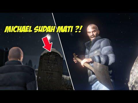 MENGEJUTKAN ! TREVOR GALI KUBURAN MICHAEL & TERNYATA... | GTA 5 MISI 54 : BURY THE HATCHET | PC