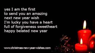 Belated new year wishes with too late delayed greetings