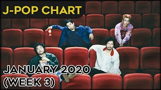 [TOP 50] YOUR FAVORITE J-POP SONGS - JANUARY 2020 (WEEK 3)