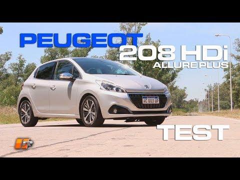 Download Peugeot 208 HDi Allure Plus 2018 Test - Routiere - Pgm 464