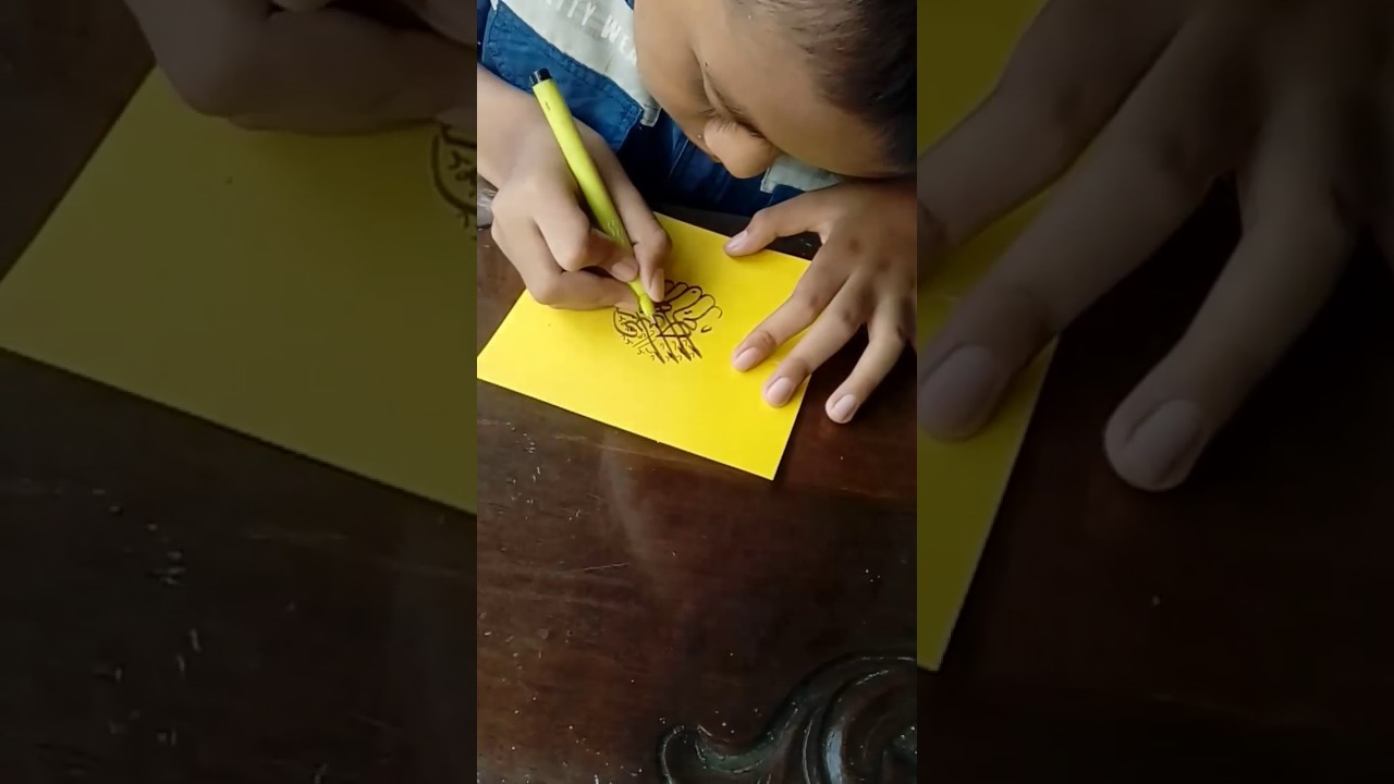 Kaligrafi Khat Tsulus Bentuk Lingkaran Seri 1 Youtube