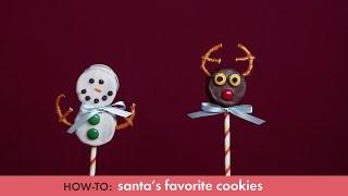 How-to: Santa's Favorite Cookies