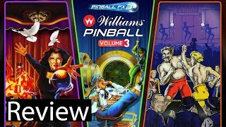 Pinball FX3: Williams Pinball Volume 3 Gameplay Review (Classics Included)