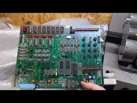 Восстановление чпу станка  Emco Turn 120 Repair Part 3