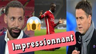 Sadio Mane🇸🇳 dépasse Suarez , impressionne Owen et fais changer d'avis Rio Ferdinand