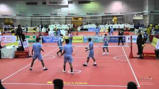 Kings Cup 2014 Sepak Takraw India vs. Laos - Regu final Division 1