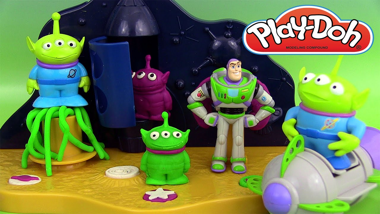 p te modeler buzz l 39 clair play doh buzz lightyear space. Black Bedroom Furniture Sets. Home Design Ideas