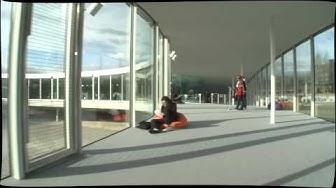 Rolex Learning Center / EPFL, SANAA a steadicam visit