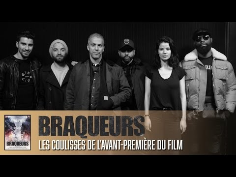 Braqueurs : Kaaris et l'équipe du film à l'avant-première