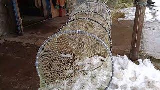 Рыбный вентерь ятерь для ловли карпа и щуки