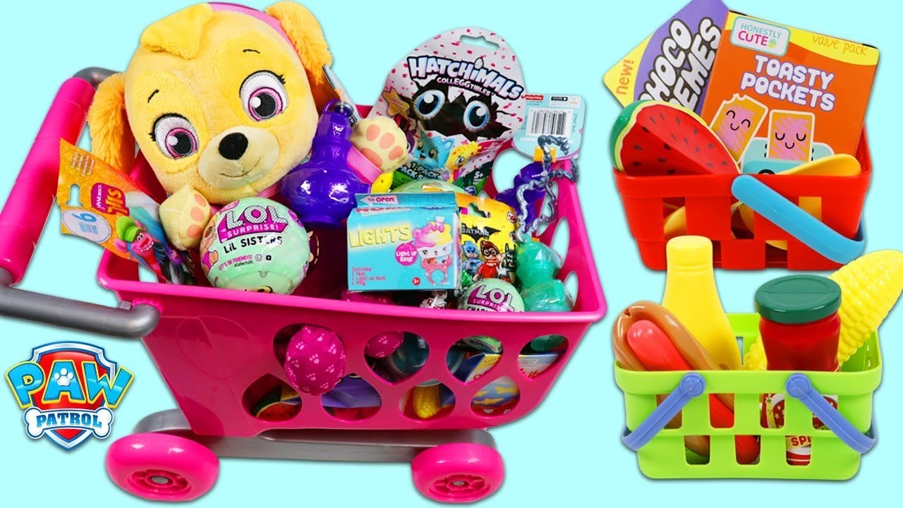 Download PAW PATROL Pup Baby Skye Goes Shopping for Groceries!