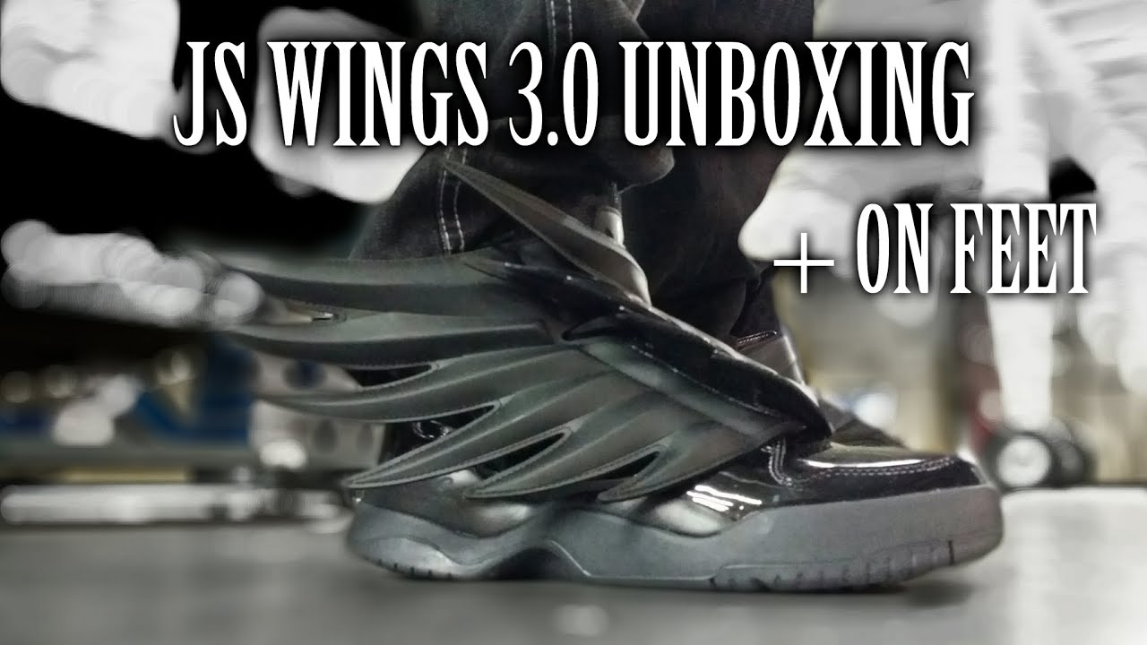 A Dapper Unboxing  Adidas Jeremy Scott Wings 3.0 (Dark Knights ... 255f9674df
