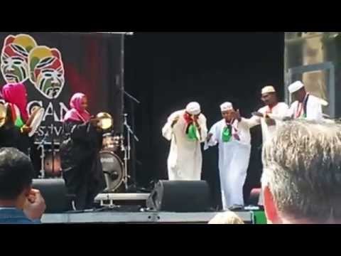 Nubian cultural group The Hague African Festival 1-6-2014