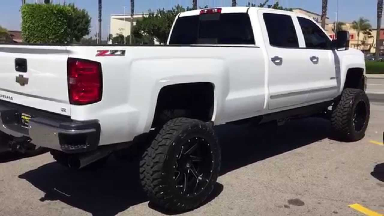 2015 Silverado z71 lifted - YouTube