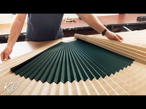 This is How Pleated Fabrics are made