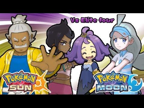 Pokemon Sun & Moon - Elite four Battle Music (HQ)