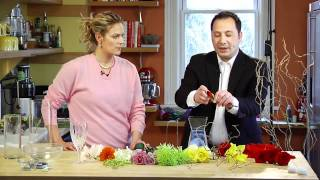 Do It Yourself Submerged Centerpieces- How To, Diy Wedding Www.foreverbride.com