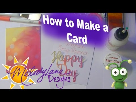How to Make a Card in Cricut Design Space Tutorial