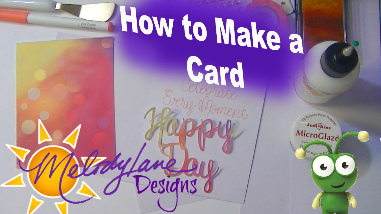 How To Make A Card In Cricut Design Space Tutorial Youtube