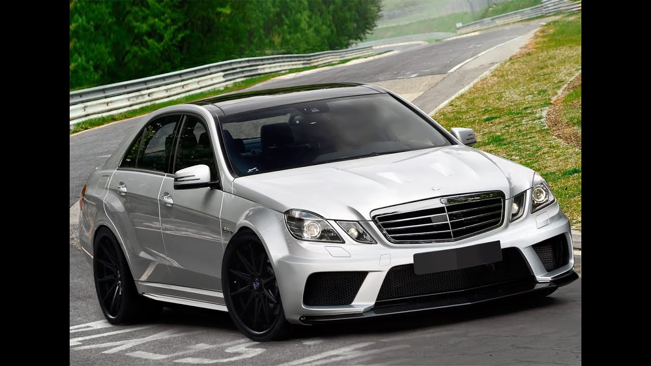 Mercedes E Class W212 Amg Black Series Kit Youtube