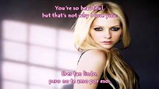 Avril Lavigne - I love You Con Letra y Subtitulada