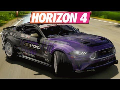 Forza Horizon 4 : C'EST N'IMPORTE QUOI ! Nouvelle Ford Mustang RTR #88 thumbnail