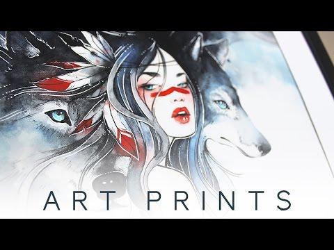 New Metallic Art Prints