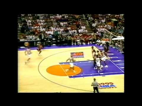 1995 Playoffs Houston@Phoenix Game 7 HIGHLIGHTS