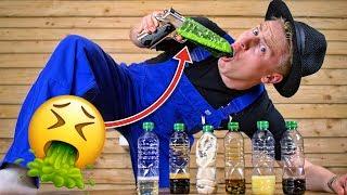 Ekelhaftestes Bottleflip Roulette DER WELT !  🤢💩 II RayFox