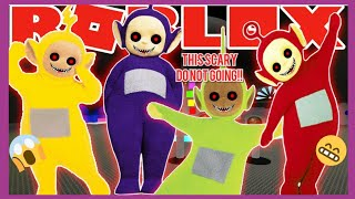 J'ai trouvé Tinky Winky Teletubbies In Roblox, (This Is Scary, Please Do Not Goings The Map)!