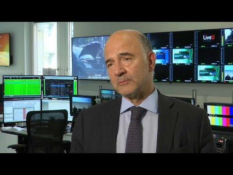 "Pierre Moscovici: ""Itália deve focar-se na dívida pública"""