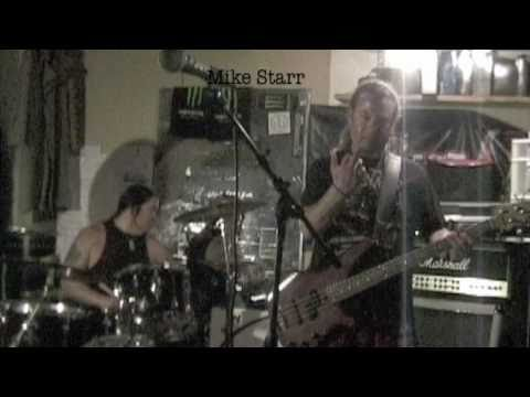 "Mike Starr Sober Creating New Song ""Black Cloud"" PART 1"
