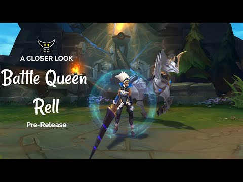 Battle Queen Rell Epic Skin (Pre-Release)