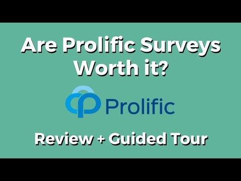 Are Prolific Surveys Worth it (Review + Guided Tour)