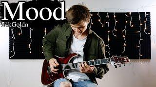 24kGoldn - Mood ft. iann dior - Electric Guitar Cover