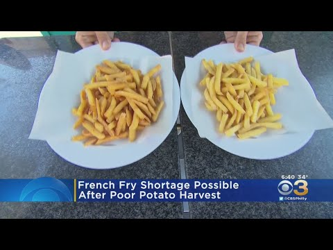 David Fisch - There May Be A French Fry Shortage Coming!