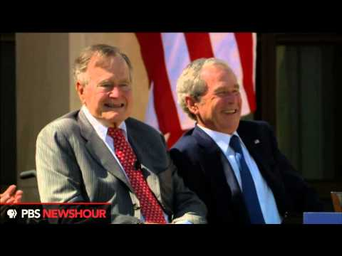 Watch President George H.W. Bush at the Dedication of the Bush Presidential Library